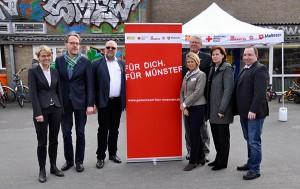 1-Jahr-Flüchtlingshilfe der Münsteraner Hilfsorganisationen