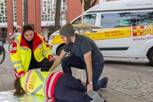Arbeiter-Samariter-Bund_Stabile Seitenlage