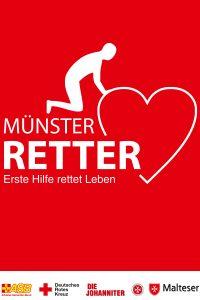 Plakat Münster Retter