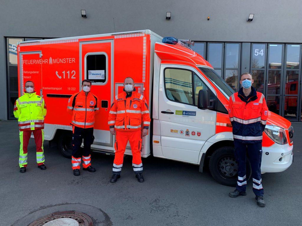 1 Jahr Notfallrettung der Hilfsorganisationen in Münster